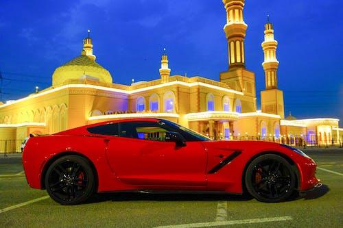 Foto d'estoc gratuïta de c7, cel blau, corvette, cotxe