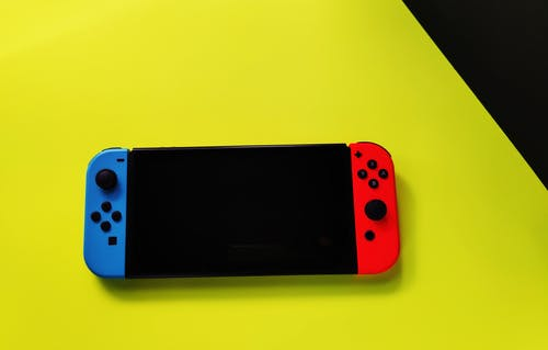 Red and Black Nintendo Switch
