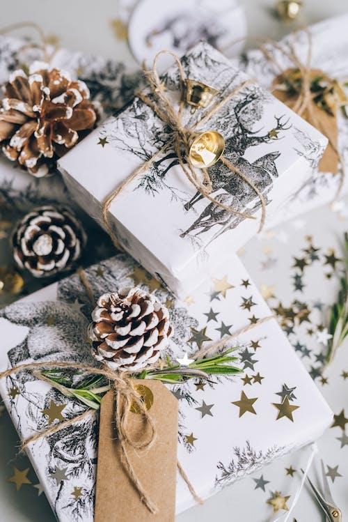 High Angle shot of Gifts