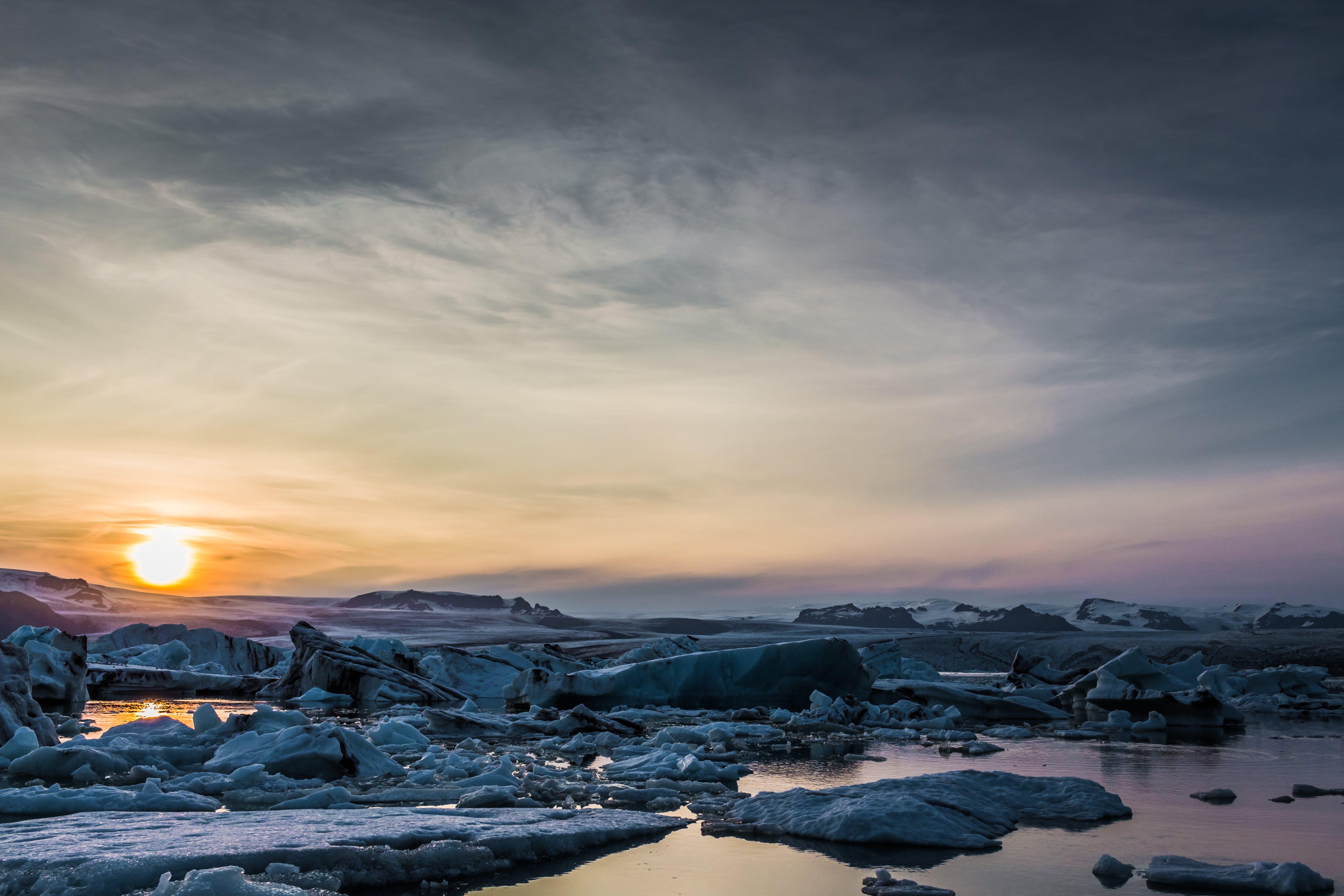 Základová fotografie zdarma na téma led, ledovec, malebný, moře