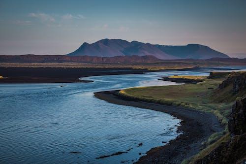 Free stock photo of evening light, evening sky, iceland, landsape