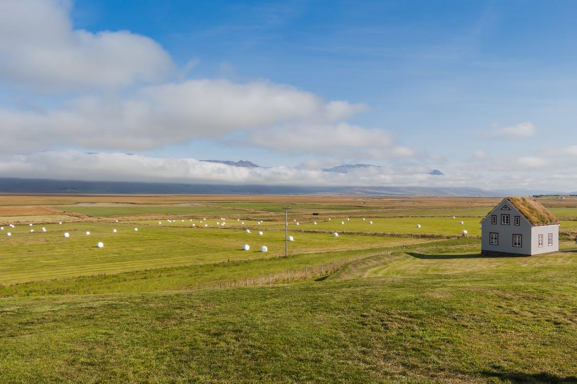 akkerland, boerderij, boerenwoning
