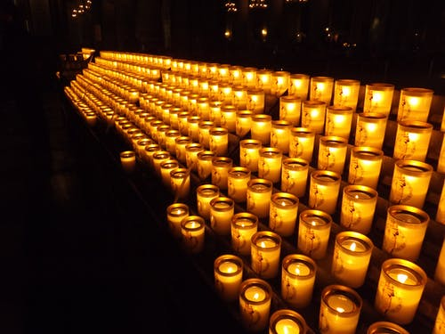 Free stock photo of candles, church, prayer