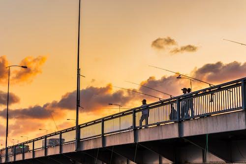光, 光線, 剪影, 城市 的 免費圖庫相片