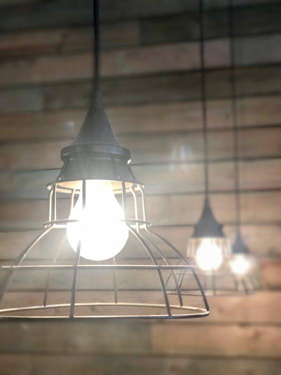 Kostnadsfri bild av kafé, lampa, vintage