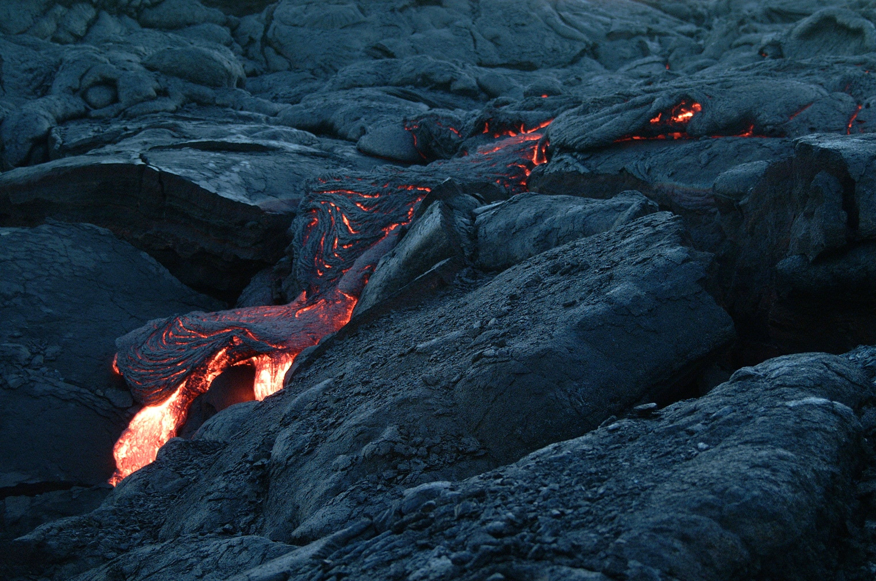 Magma on Mountain
