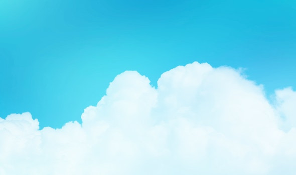 Free stock photo of sky, blue, summer, white