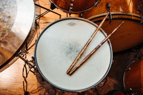 A Drumstick over the Drum