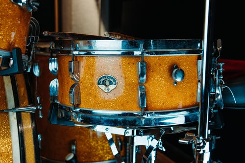 Free stock photo of drum, gold sparkle, leedy and ludwig