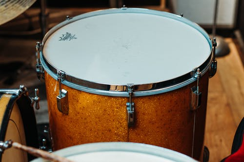 Free stock photo of gold sparkle, leedy and ludwig, vintage floor drum