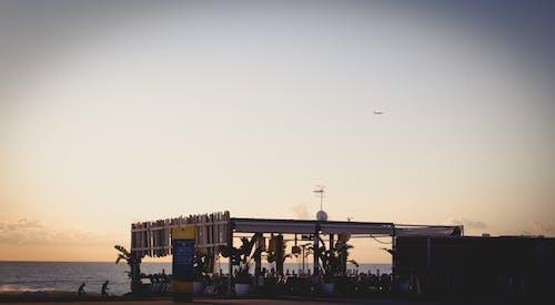 คลังภาพถ่ายฟรี ของ ชายหาด, บาร์เซโลนา, ระเบียง