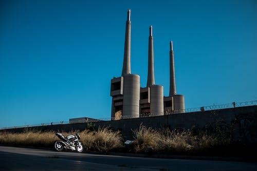Photos gratuites de architecture, bâtiment, industrie, moto