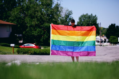 Foto profissional grátis de administração, amor, ao ar livre, arco-íris