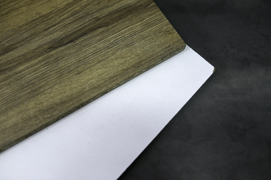 Laminated boards / oak / icy white