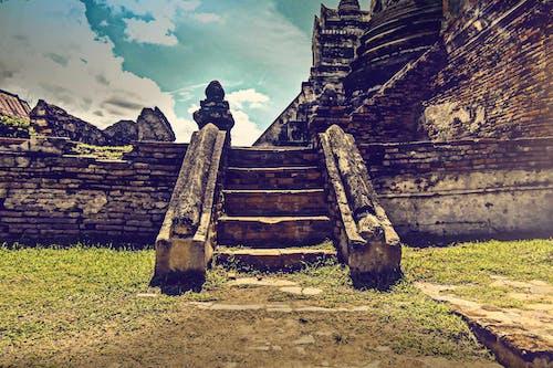 Δωρεάν στοκ φωτογραφιών με αρχαίος, βήματα, πέτρα, σκάλες