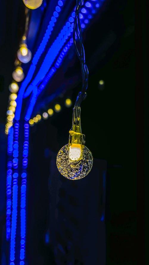 Free stock photo of aluminium, beautiful light, blue light