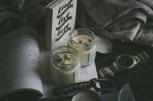 Immagine gratuita di articoli di vetro, benessere, business, candela