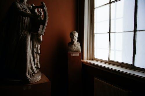 Δωρεάν στοκ φωτογραφιών με άγαλμα, αίθουσα, αντίκα, απόχρωση