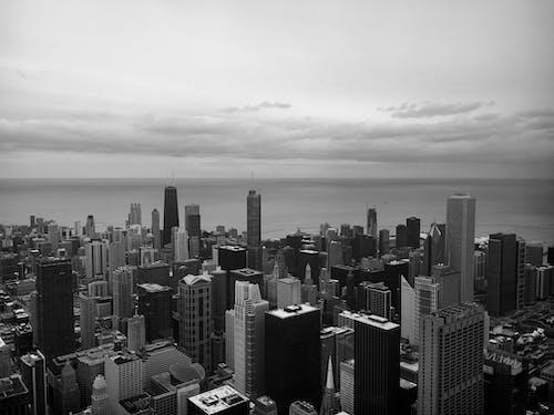Ingyenes stockfotó alkonyat, belváros, építészet témában