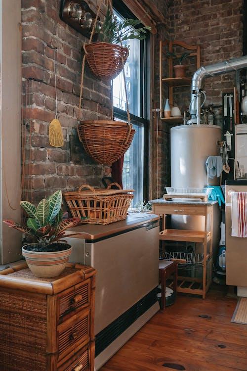 インテリア, インドア, お年寄り, キッチンの無料の写真素材