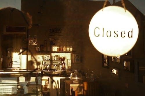 Ingyenes stockfotó kávézó, kávézó belső, napfény témában