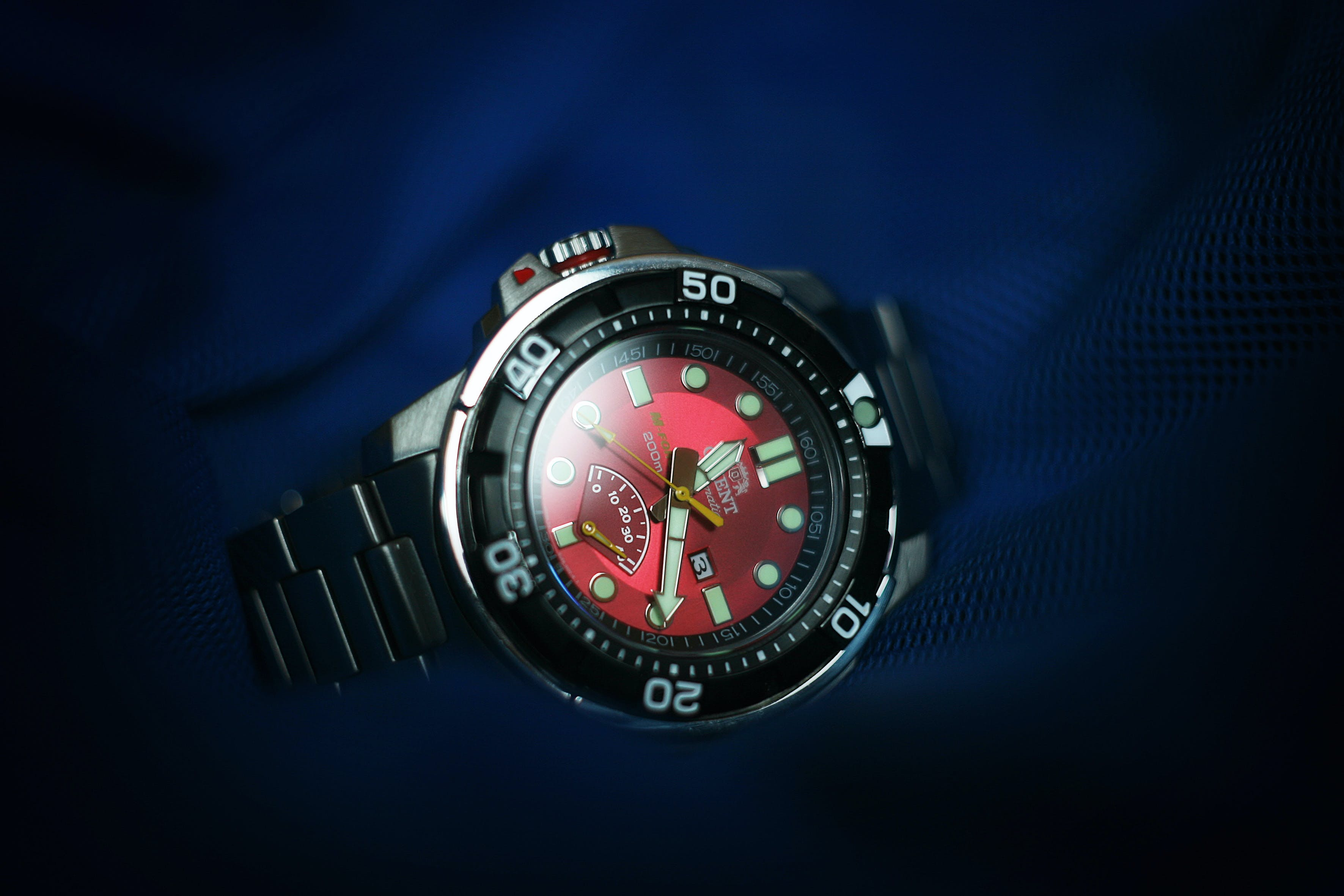 Free stock photo of bracelet, diver, diver watch, japan watch
