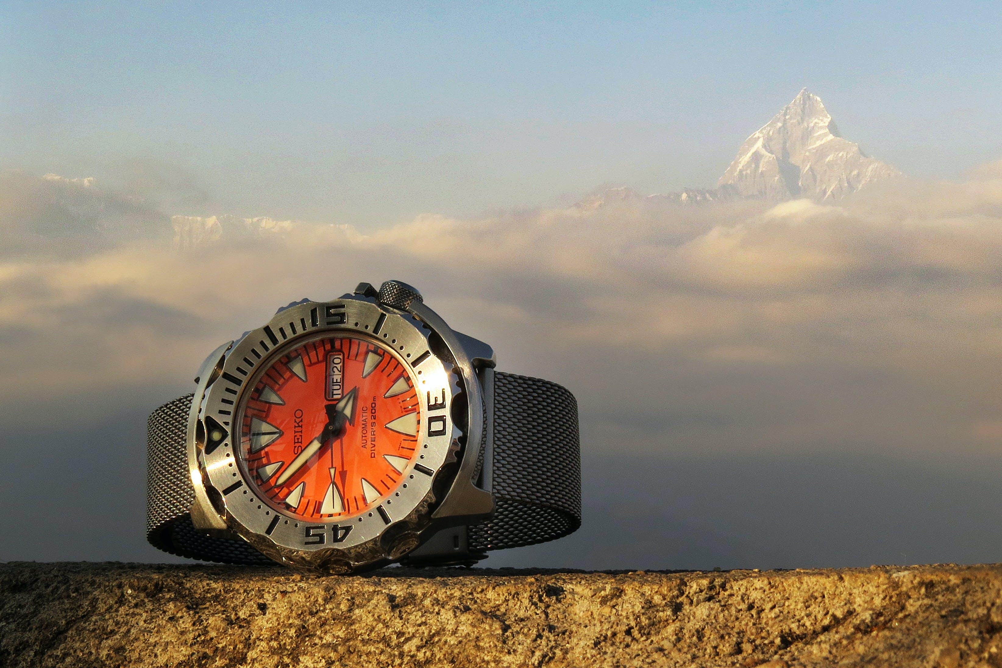 Free stock photo of annapurna, bracelet, cloud, diver