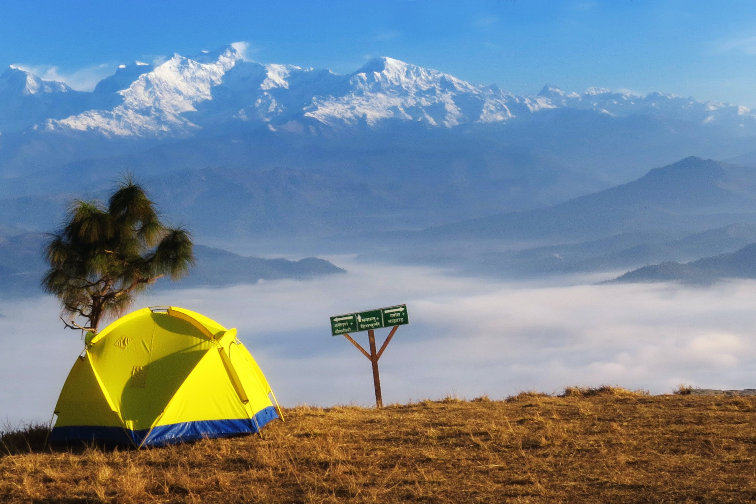 Free stock photo of annapurna, bandipur, clouds, hill