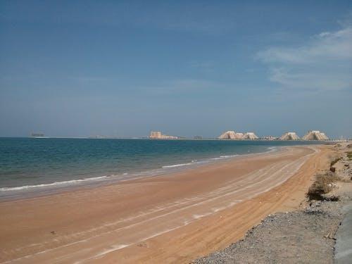 Kostenloses Stock Foto zu blaues wasser, sand, strand