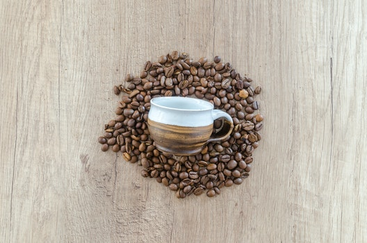 Free stock photo of beans, coffee, cup, mug