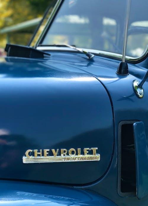 Foto stok gratis chevrolet, kaca depan, kendaraan, klasik