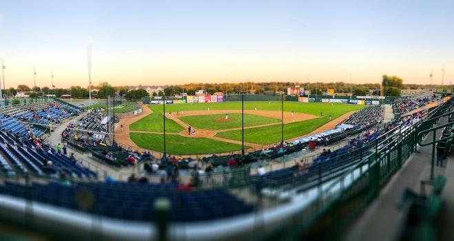 Free stock photo of baseball game