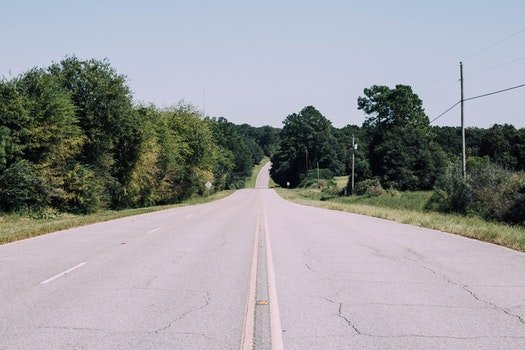 Free stock photo of road, street, hills