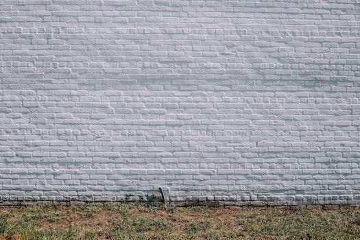 Free stock photo of bricks, white, rustic, brick