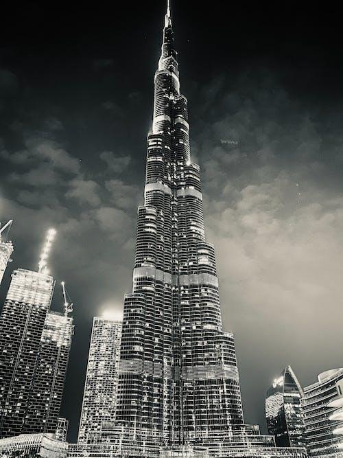 Free stock photo of architect, black amp white, buildings