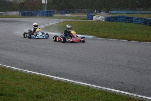 Fotos de stock gratuitas de alta velocidad, carrera de coches, carreras de karts