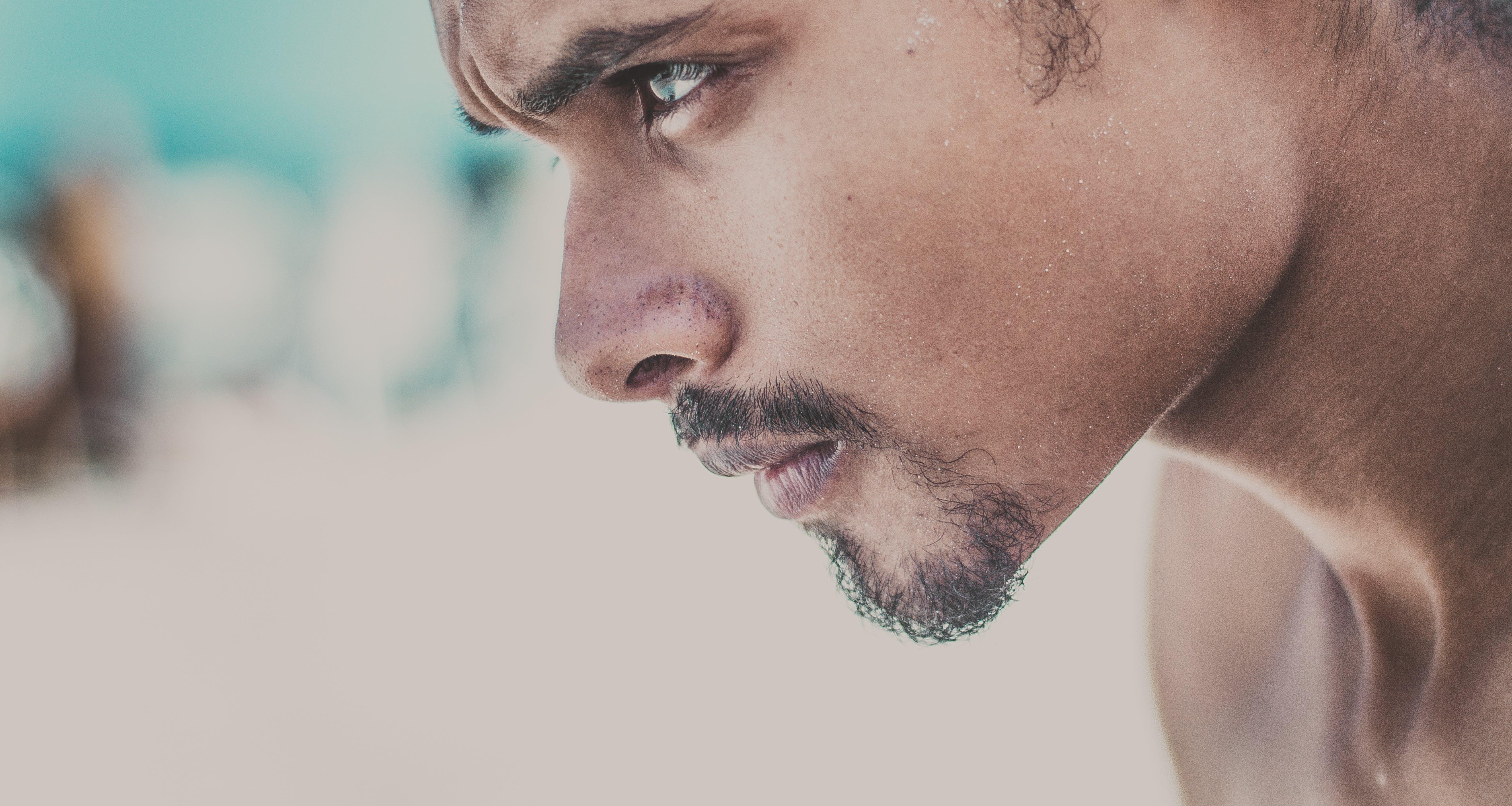 Free stock photo of man, blur, face, beard