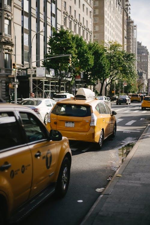 交叉, 交通, 垂直, 城市 的 免费素材图片