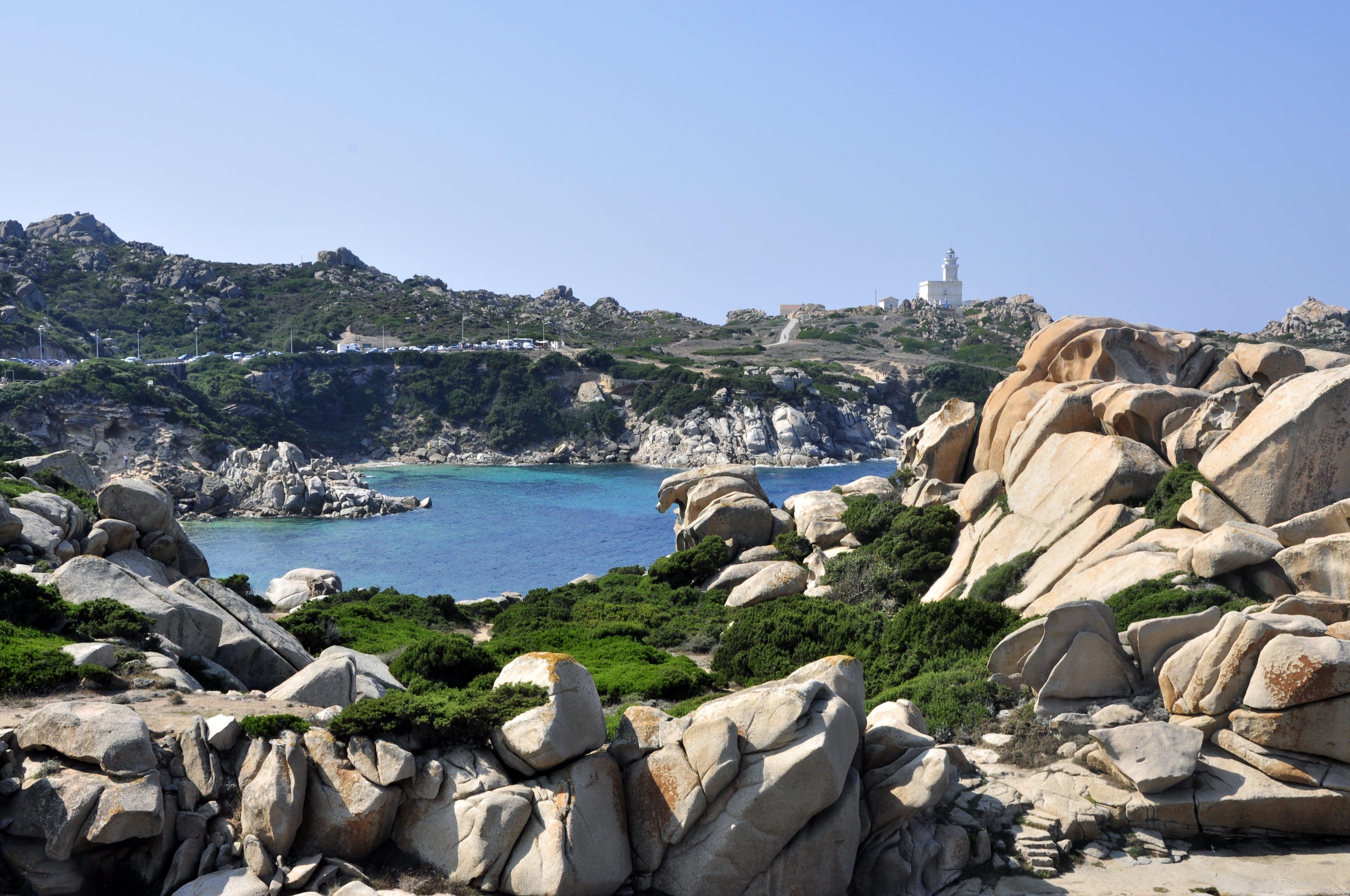Free stock photo of mediterranean sea, rock