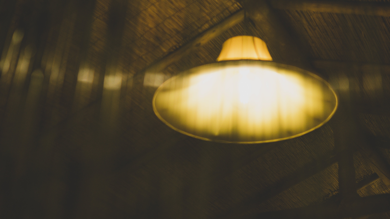Yellow Pendant Lamp