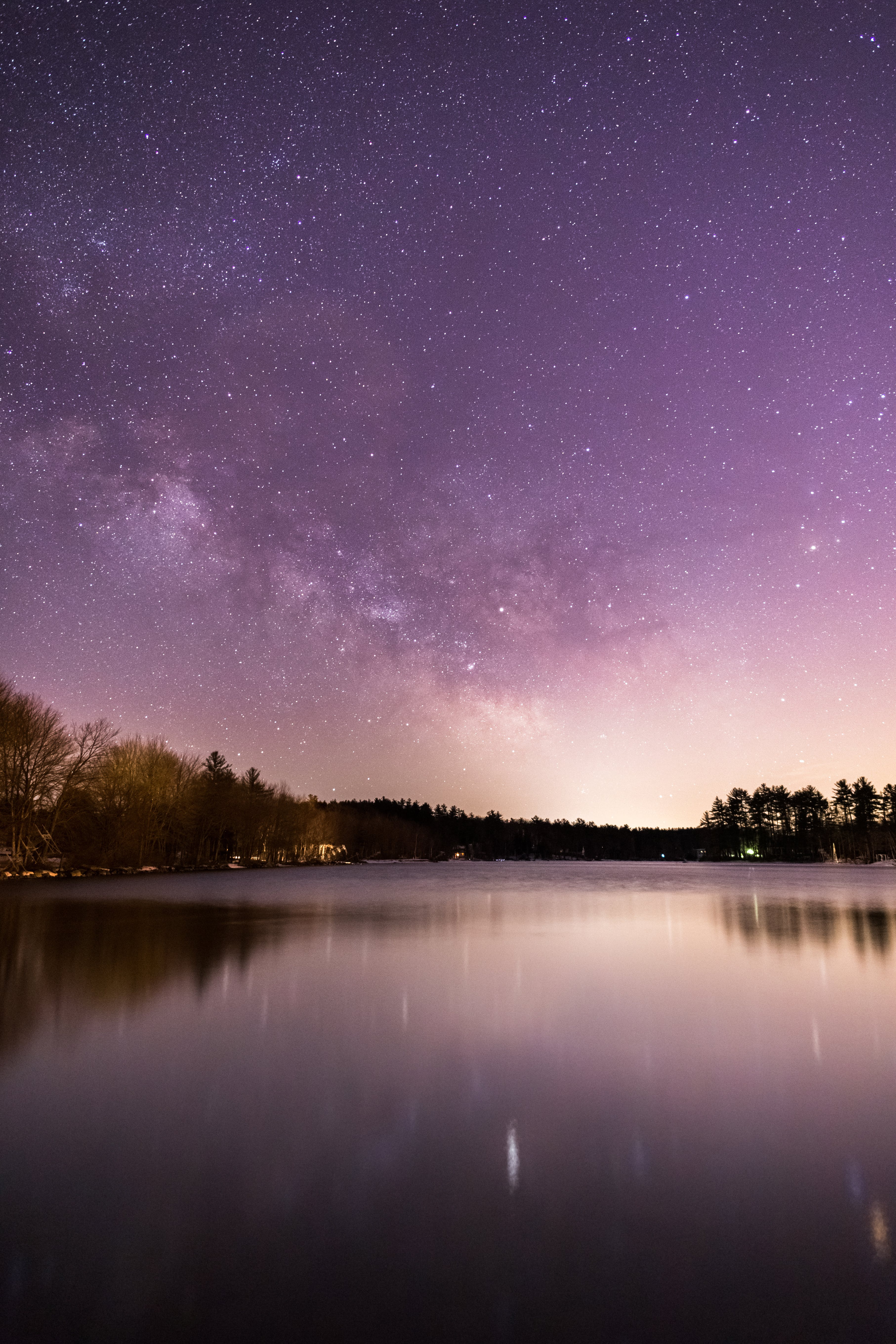 Body of Water during Night