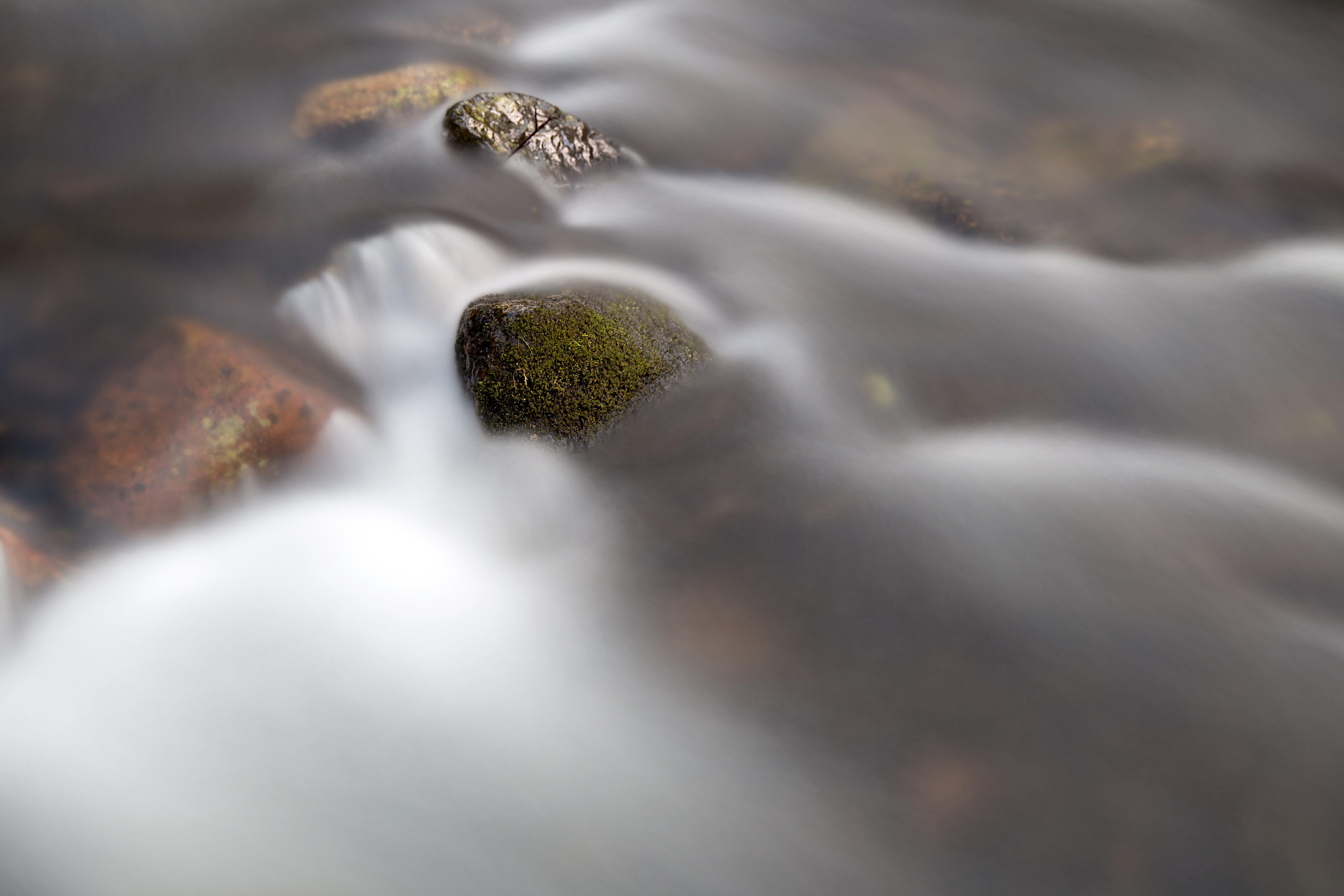 Creek Time Lapse Photo