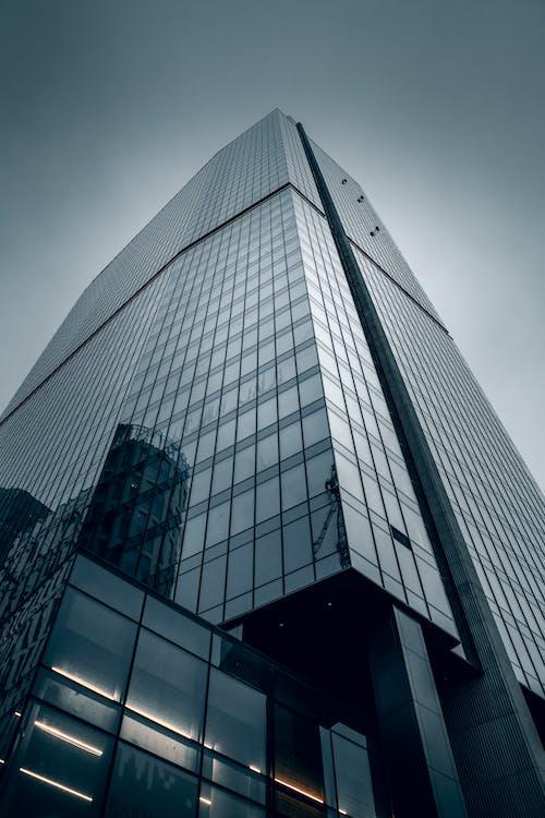 Kostenloses Stock Foto zu architektur, beton, blau
