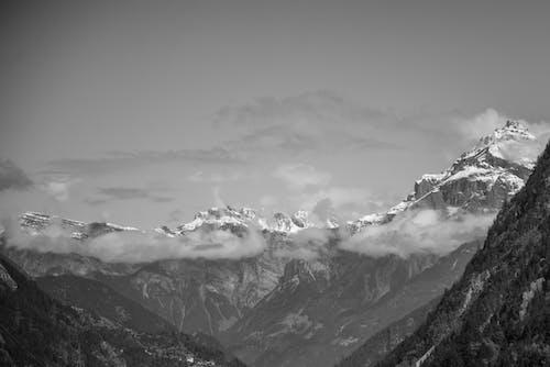 Ilmainen kuvapankkikuva tunnisteilla Alpit, auringonlasku, flunssa, jää