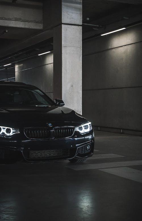 Black BMW M3 Parked in Parking Lot