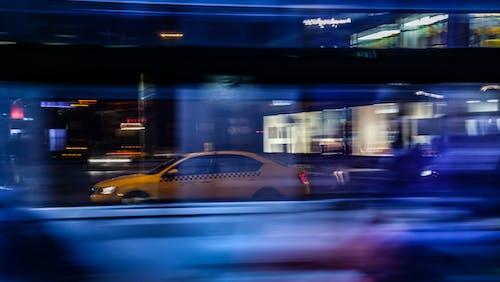 交通, 交通系統, 光迹, 城市 的 免费素材照片