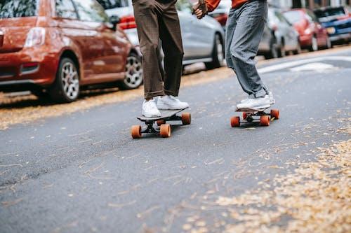 Darmowe zdjęcie z galerii z aktywność, aktywny, anonimowy, asfalt