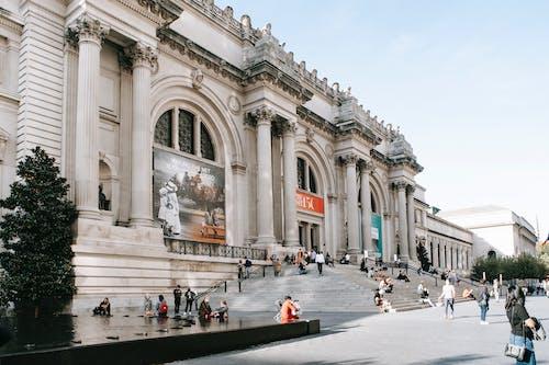 人行道, 入口, 公共, 博物館 的 免费素材图片