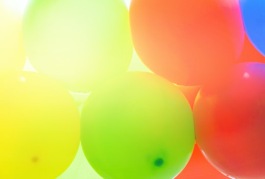 Free stock photo of red, blue, party, yellow