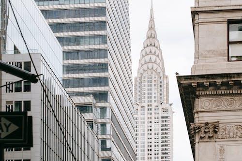 Nowoczesny Budynek Chryslera W Mieście